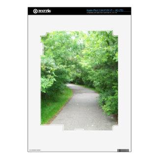 Walking path decal for iPad 3