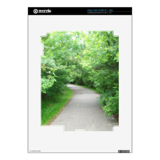 Walking path decals for iPad 2