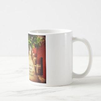 Walking Path & Friendship Proverb Coffee Mug