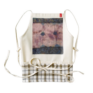 Walking path made of square stones zazzle HEART apron