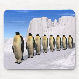 Walking Penguin Mousepad