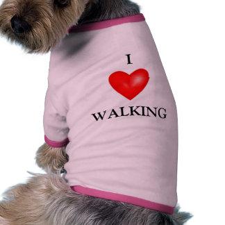 WALKING PET TSHIRT