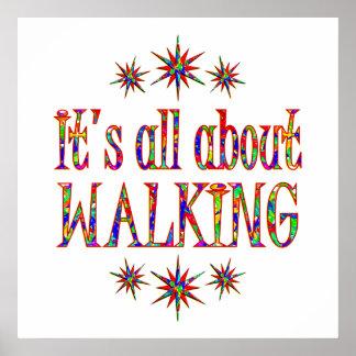 WALKING PRINT