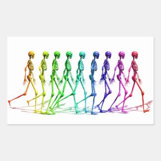 Walking Skeletons sticker
