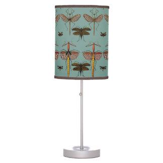 Walking sticks, Katydids and Dragonflies Desk Lamp