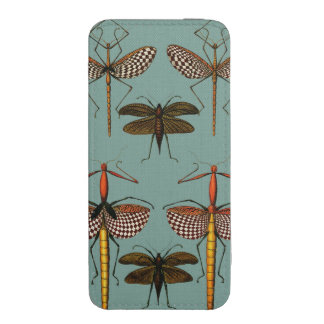 Walking sticks, Katydids and Dragonflies iPhone SE/5/5s/5c Pouch