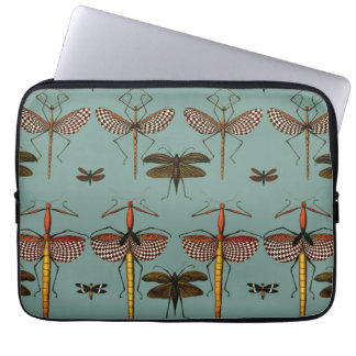 Walking sticks, Katydids and Dragonflies Laptop Computer Sleeves