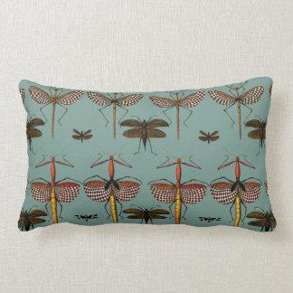 Walking sticks, Katydids and Dragonflies Lumbar Pillow