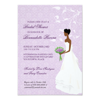 Walking the Aisle Bridal Shower Invitation