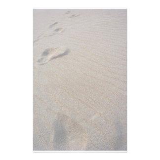 Walking the Beach Stationery Design