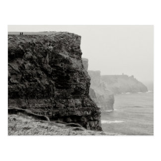 Walking the Cliffs Postcard