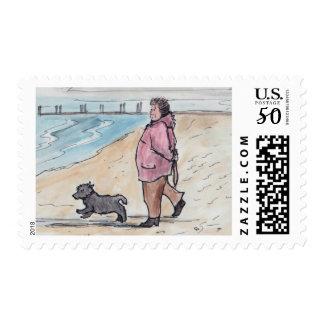 Walking the dog - 03 postage