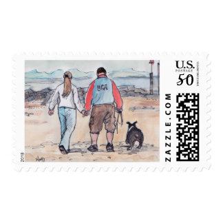 Walking the dog - 04 postage