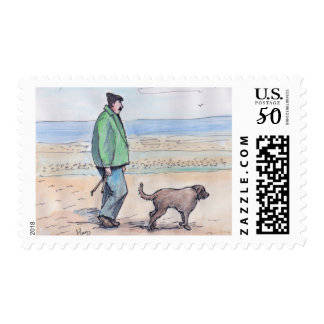 Walking the dog - 06 postage