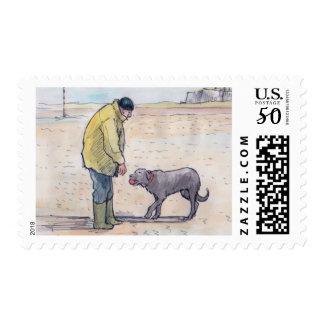 Walking the dog - 08 postage