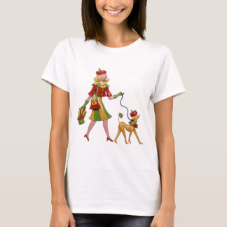 Walking the dog in style! T-Shirt