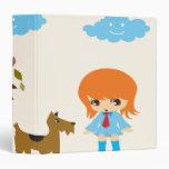 walking the dog notebook 3 ring binder