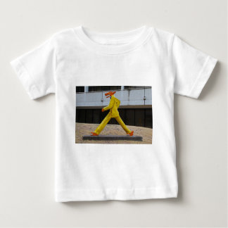 Walking the Dogs by Gilbert Magu Sanchez -horizont Baby T-Shirt