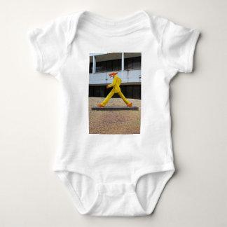 Walking the Dogs by Gilbert Magu Sanchez -vertical Baby Bodysuit