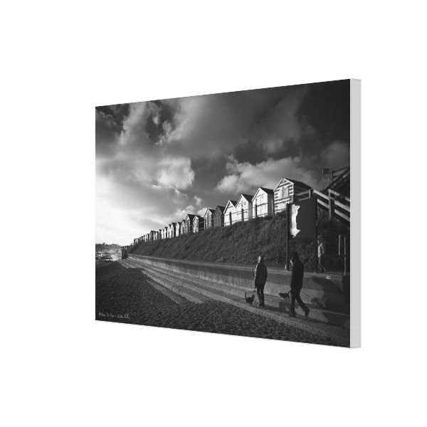 Walking The Dogs - wrapped canvas
