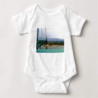 Walking the Lions Gate Bridge Baby Bodysuit