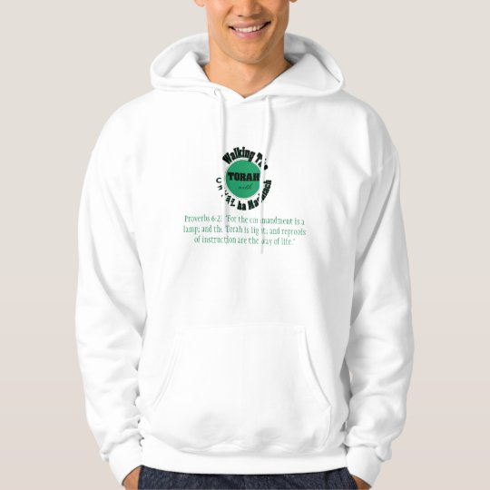 Walking the Turah with Yahusha Hoodie