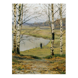 Walking through an Autumn Meadow Postcards
