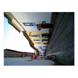 Walking through Cusco Postcard