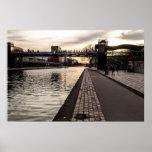 Walking through La Villette Poster