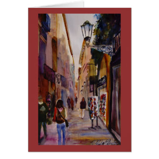"""""""Walking to Museo Watercolor Cards"""