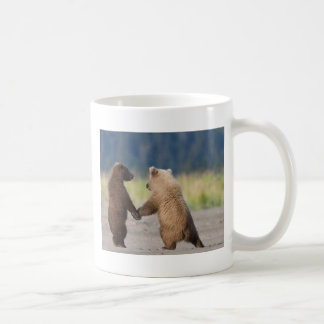 Walking Together Hand In Hand Coffee Mug