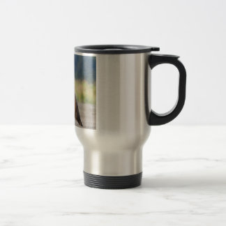 Walking Together Hand In Hand Travel Mug