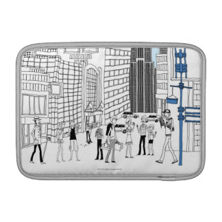 Walking Tourists Sleeve For MacBook Air