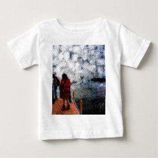 Walking towards the lake baby T-Shirt