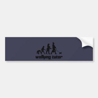 Walking Tutor Bumper Sticker