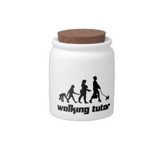 Walking Tutor Candy Jars
