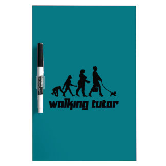 Walking Tutor Dry-Erase Board