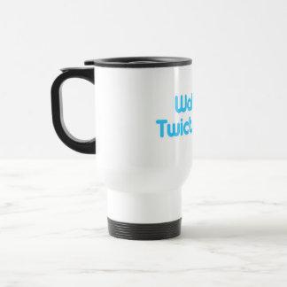 Walking twictionary 15 oz stainless steel travel mug