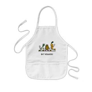 Walking Veggies! Kids' Apron