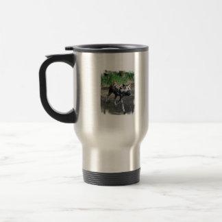 Walking Wild Dog Travel Mug