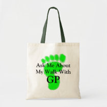 Walking with GP Tote Bag