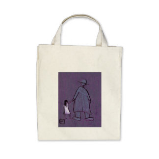 WALKING WITH GRANDAD CANVAS BAGS