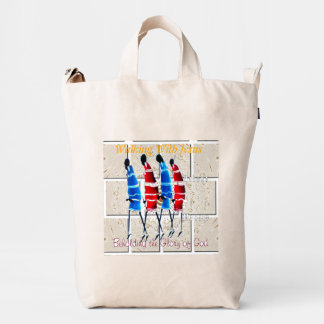 Walking With Jesus Beholding the Glory of God Duck Bag