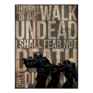 Walking with Zombies Poster