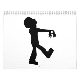 Walking Zombie Wall Calendars