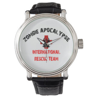 Walking Zombie International Response Team Funny Watches