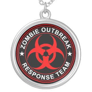 Walking Zombie Response Team Dead Walkers Necklace