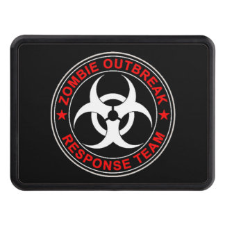 Walking Zombie Response Team Hitch Cover