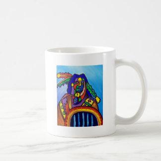Walks wiyh Wolfs by Piliero Coffee Mug