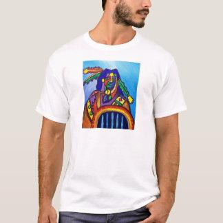 Walks wiyh Wolfs by Piliero T-Shirt